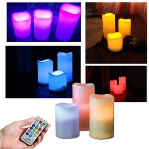 bougies sans flammes sans piles achat vente bougies. Black Bedroom Furniture Sets. Home Design Ideas