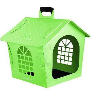 Niche pliable pour chien 67cm en plastique vert achat vente niche niche pliable pour chien - Niche pliable pour chien ...