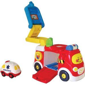 camion de pompier pour enfant de 2 ans achat vente. Black Bedroom Furniture Sets. Home Design Ideas
