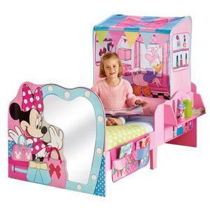 lit minnie mouse achat vente jeux et jouets pas chers. Black Bedroom Furniture Sets. Home Design Ideas