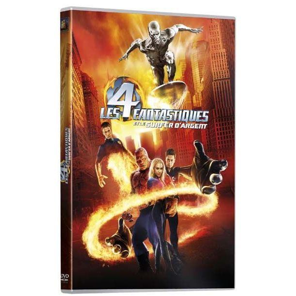 DVD FILM DVD Les 4 fantastiques et le surfer d'argent