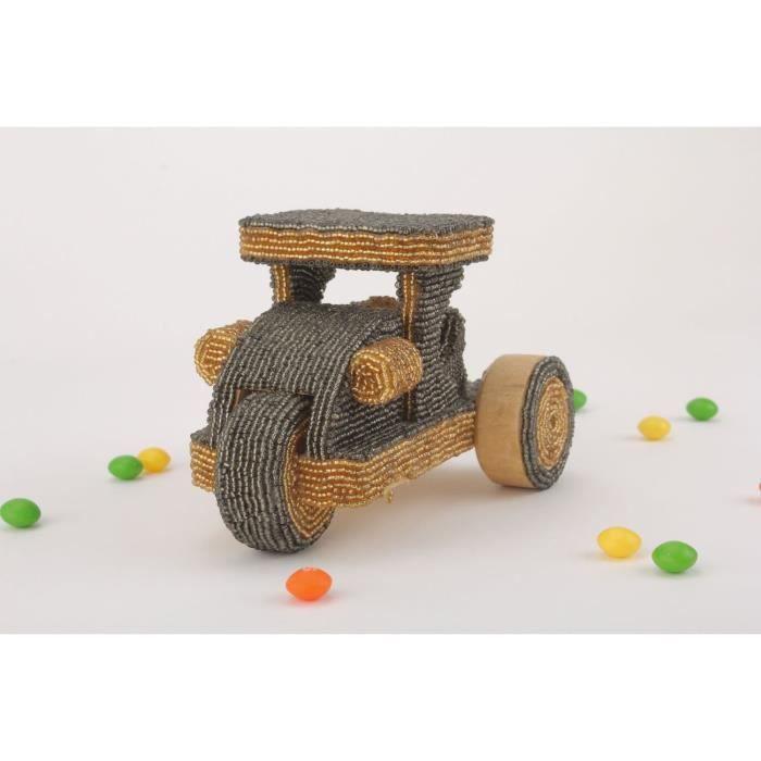 Jouet en bois d coratif tracteur fait main cadeau original - Objet decoratif original ...