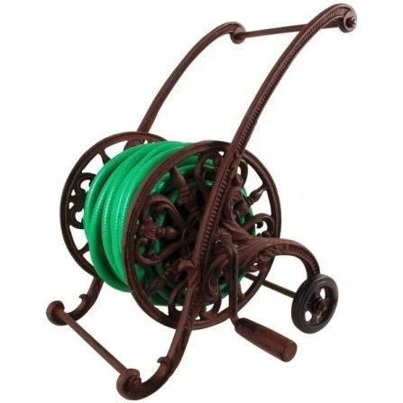 d vidoir pour tuyau d 39 arrosage sur roues en fonte achat vente tuyau buse t te d vidoir. Black Bedroom Furniture Sets. Home Design Ideas