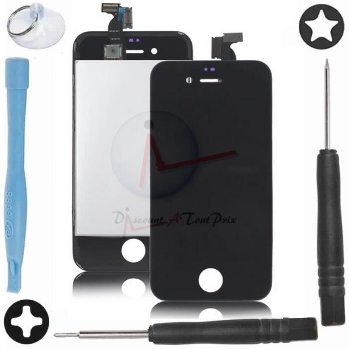 vitre tactile noir ecran lcd r tina assembl s ch ssis pour iphone 4 outils achat ecran de. Black Bedroom Furniture Sets. Home Design Ideas
