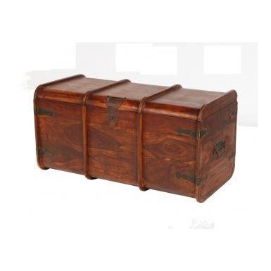 coffre bois coffre achat vente coffre bois bois cdiscount. Black Bedroom Furniture Sets. Home Design Ideas