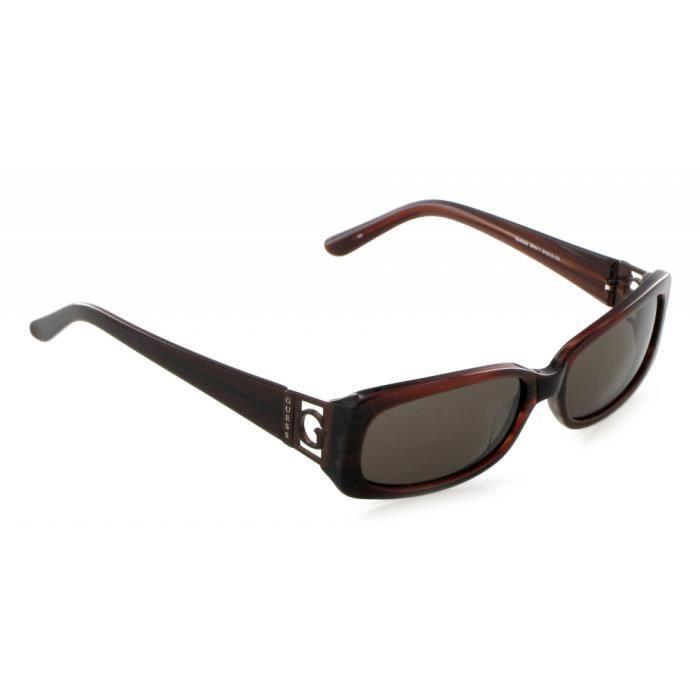 lunettes de soleil guess neuves femme 6530 brn marron achat vente lunettes de soleil cdiscount. Black Bedroom Furniture Sets. Home Design Ideas