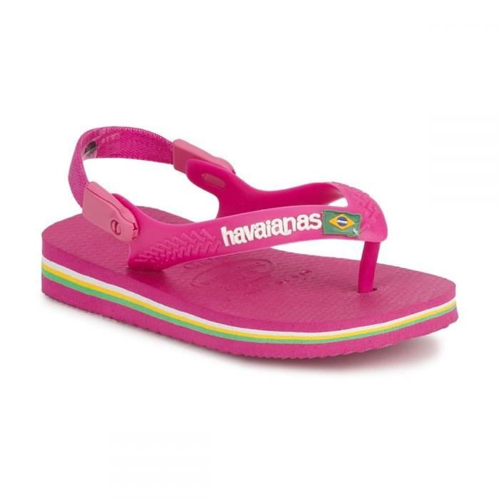 tongs havaianas baby brasil logo achat vente tong tongs havaianas baby brasil cdiscount. Black Bedroom Furniture Sets. Home Design Ideas