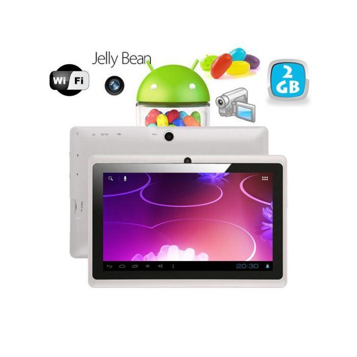 Tablette tactile android 4 1 jelly bean 7 pouce prix - Tablette pas cher leclerc ...