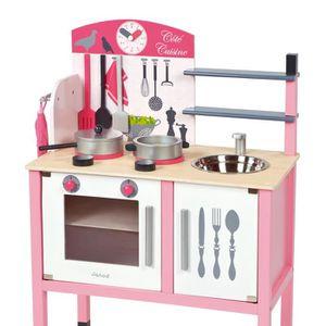 Jeux jouets dinette cuisine achat vente jeux for Cuisine en bois pour enfant ikea