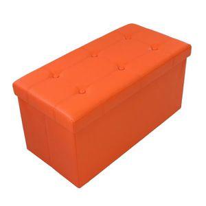 pouf orange achat vente pouf orange pas cher. Black Bedroom Furniture Sets. Home Design Ideas