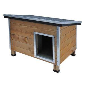niche pour chien exterieur s achat vente niche pour chien exterieur s pas cher cdiscount. Black Bedroom Furniture Sets. Home Design Ideas