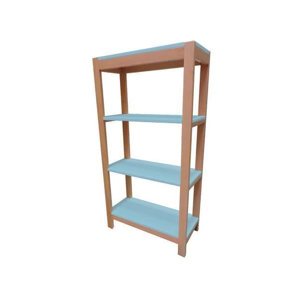 etag re hauteur 160cm berlin bleu pastel achat vente meuble tag re etag re hauteur 160cm. Black Bedroom Furniture Sets. Home Design Ideas