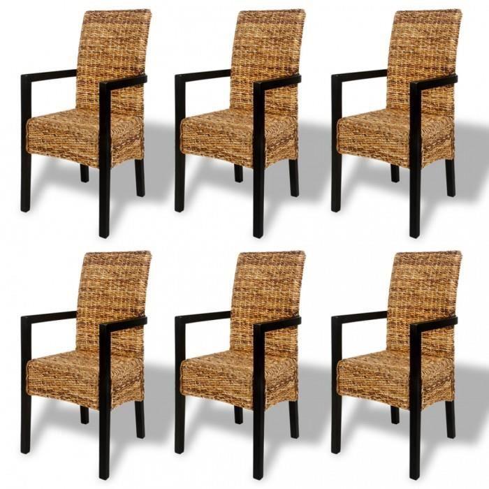 Chaises de cuisine et de salle a manger chaises de salle a for Chaises salle a manger avec accoudoirs