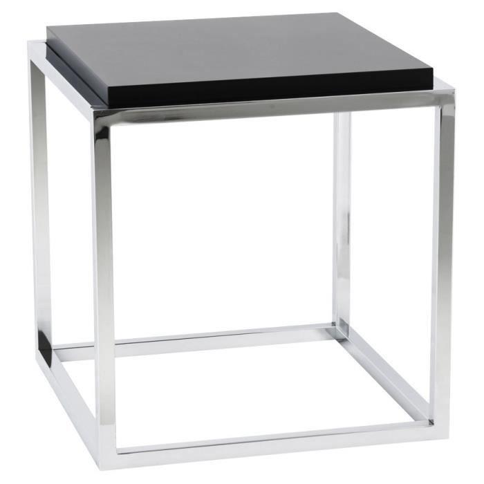 cube de rangement 39 multy 39 noir empilable achat vente petit meuble rangement cube de. Black Bedroom Furniture Sets. Home Design Ideas