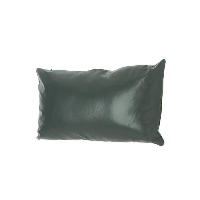 Coussin skin d houssable gris achat vente coussin cdiscount - Coussin de garnissage 50x50 ...