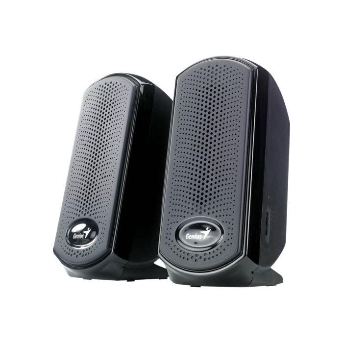 genius sp u110 haut parleurs pour pc 2 watt achat vente enceintes ordinateur genius. Black Bedroom Furniture Sets. Home Design Ideas