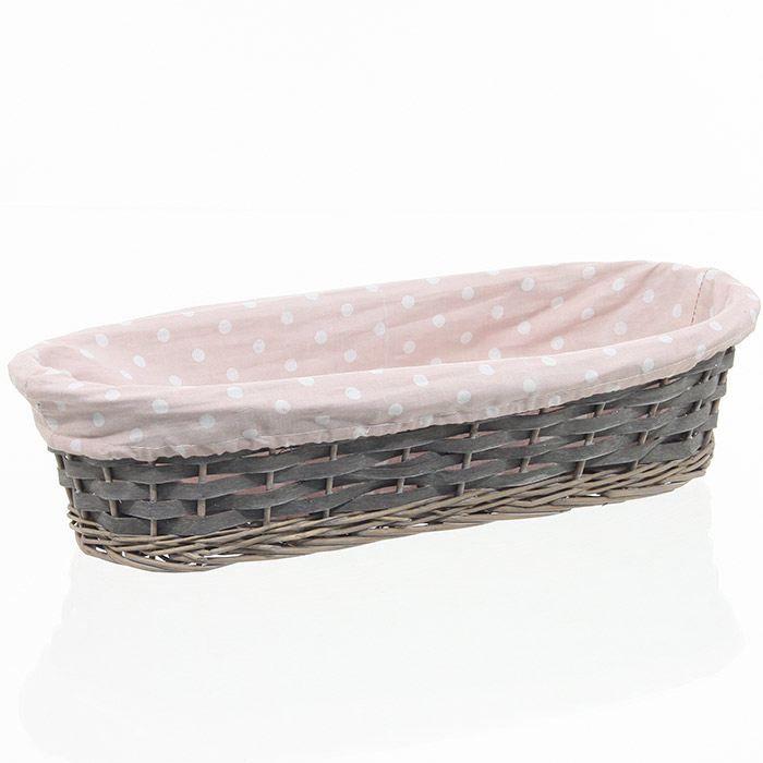 panier en osier de rangement pain parme achat. Black Bedroom Furniture Sets. Home Design Ideas