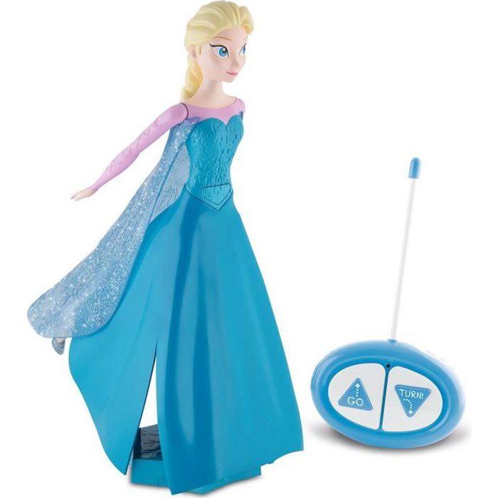 la reine des neiges elsa radiocommand e patine et chante achat vente figurine personnage. Black Bedroom Furniture Sets. Home Design Ideas