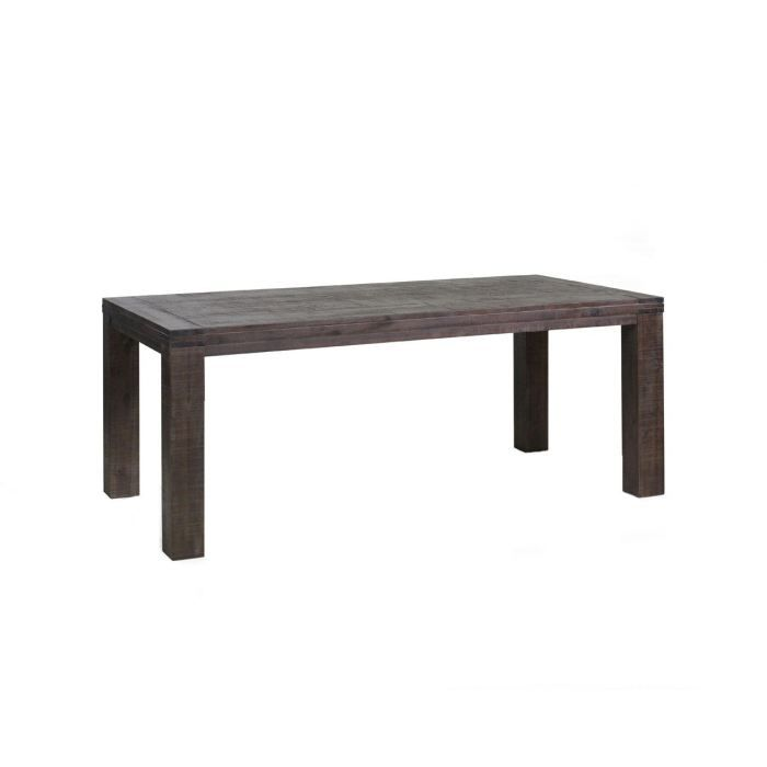 Table de salle manger en acacia massif couleu achat for Xooon table salle a manger