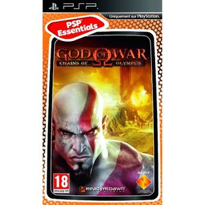 JEU PSP GOD OF WAR CHAINS OF OLYMPUS ESSENTIAL / PSP
