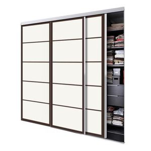Portes de placard coulissante achat vente portes de placard coulissante pas cher cdiscount for Porte placard cuisine pas cher