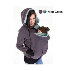 MANTEAU - CABAN Manteau hiver maternité Noir