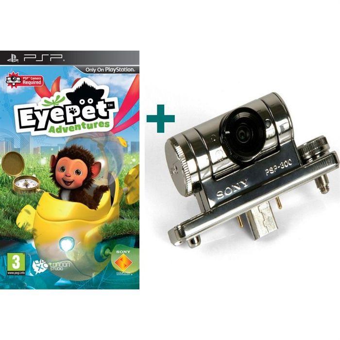 EYEPET ADVENTURES PSP + CAMÉRA [JEU PSP]