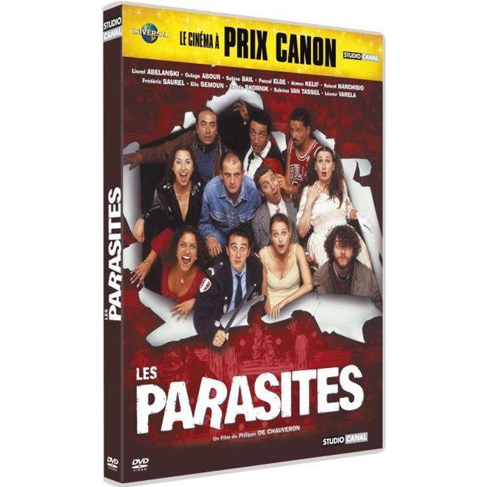 Les parasites est les organismes nourrissant