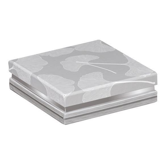petite boite carr e grise impression bois et ar achat vente boite de rangement cdiscount. Black Bedroom Furniture Sets. Home Design Ideas