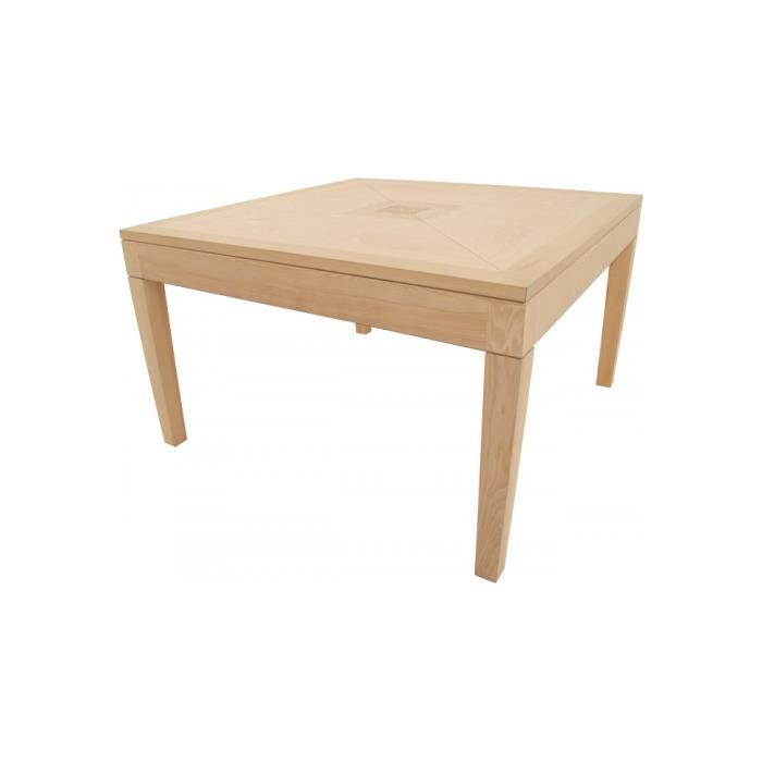 Table carr e ch ne l120 achat vente table a manger for Table carree en chene