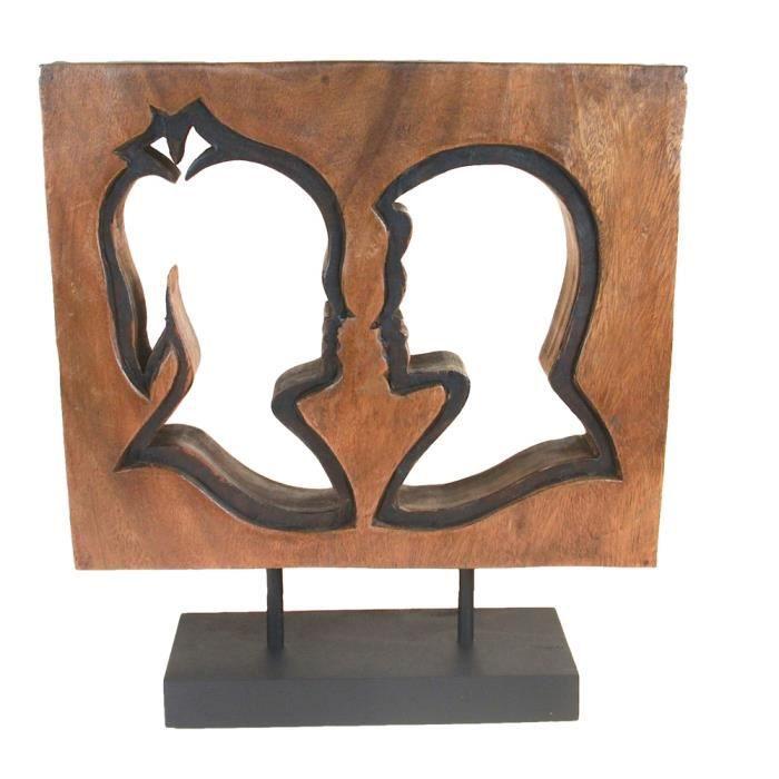 objet d coratif en bois achat vente objet d coratif. Black Bedroom Furniture Sets. Home Design Ideas