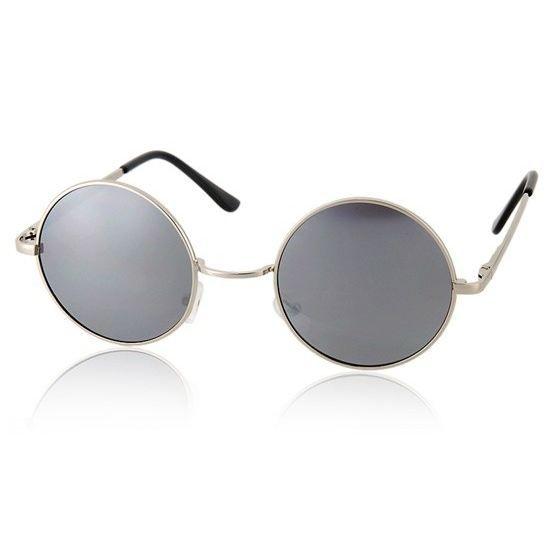 lunettes de soleil rondes mod le 15848231 argent argent. Black Bedroom Furniture Sets. Home Design Ideas