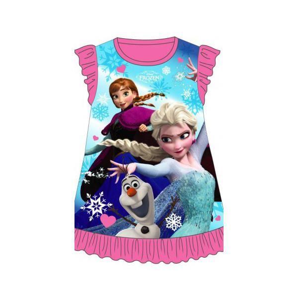robe d 39 t enfants rose filles 3 4 ans frozen la reine des neiges disney elsa anna et olaf. Black Bedroom Furniture Sets. Home Design Ideas