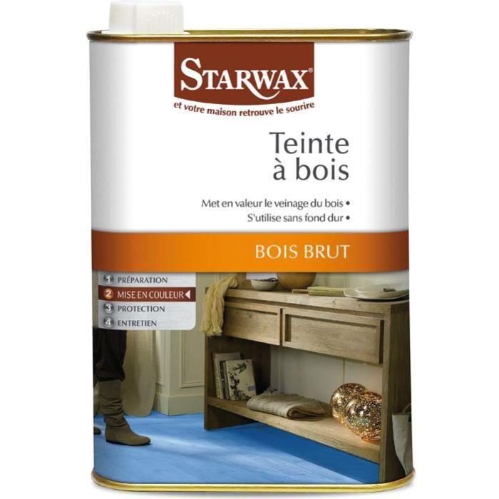 Teinte bois starwax bidon 500ml ch ne moyen achat vente r novateur mat - Decapant bois sans odeur ...