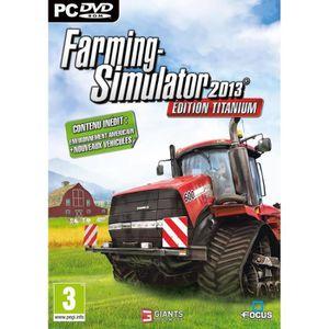 JEU PC FARMING SIMULATOR 2013 TITANIUM / Jeu PC