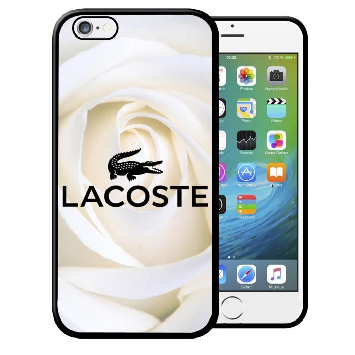 coque iphone 7 lacoste achat vente coque iphone 7. Black Bedroom Furniture Sets. Home Design Ideas