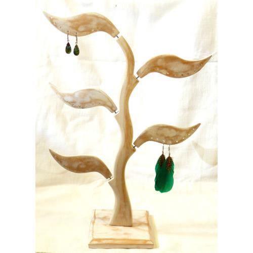 presentoir boucles d 39 oreille bois arbre bijoux a achat. Black Bedroom Furniture Sets. Home Design Ideas