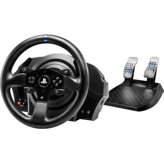thrustmaster t300rs volant p dalier pour ps4 achat vente volant console thrustmaster. Black Bedroom Furniture Sets. Home Design Ideas