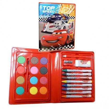 cars set coloriage de 24 pi ces achat vente kit de dessin cars set coloriage de 24. Black Bedroom Furniture Sets. Home Design Ideas