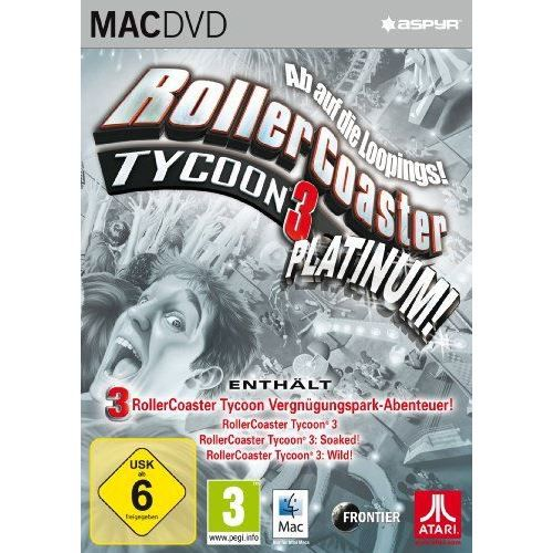 JEU PC Rollercoaster Tycoon 3 Platinum [import allemand]