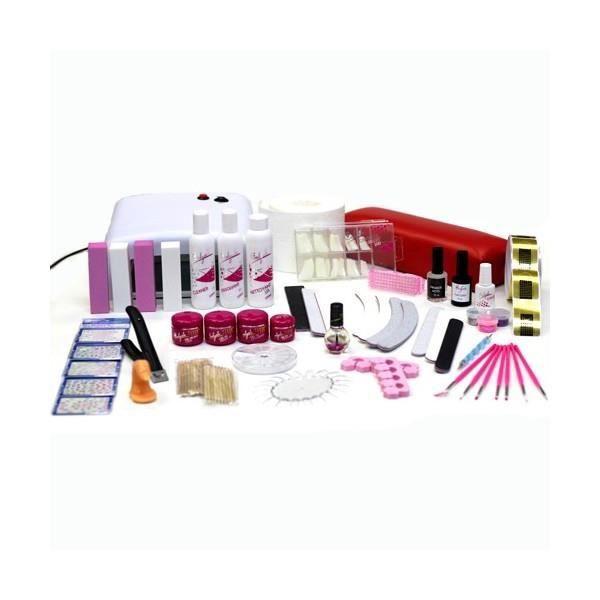 kit manucure professionnelle en gel uv monophas achat vente set manucure p 233 dicure