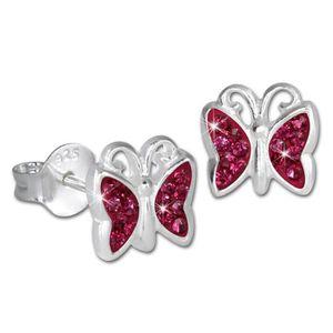 Boucle d'oreille SilberDream Boucles d'oreilles Enfants - Papillon