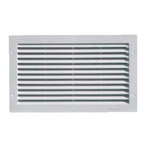 grille ventilation rectangulaire pvc encastrer fermeture moustiquaire 230x380mm achat. Black Bedroom Furniture Sets. Home Design Ideas