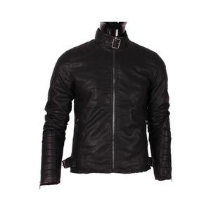 veste style motard homme achat vente veste style. Black Bedroom Furniture Sets. Home Design Ideas