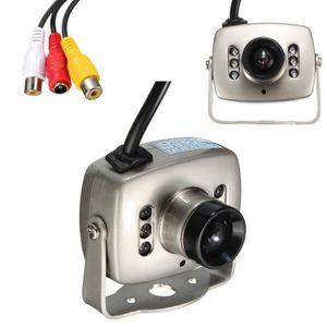 CAMÉRA DE SURVEILLANCE Mini Caméra CMOS HD CCTV LED Sécurité Surveillance
