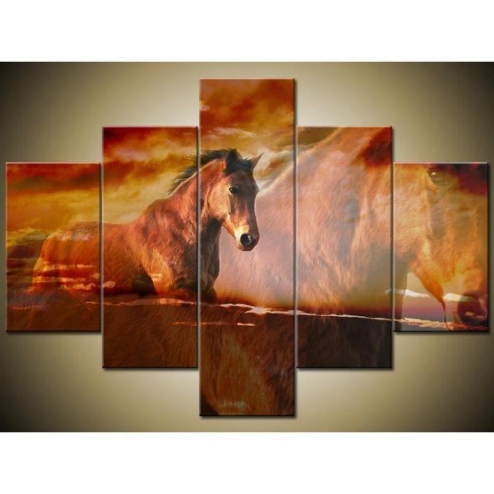 Superbe tableau chevaux pour voir mes autres tableaux cliquez en dessous du tableau sur amt - Tableau de cheval ...