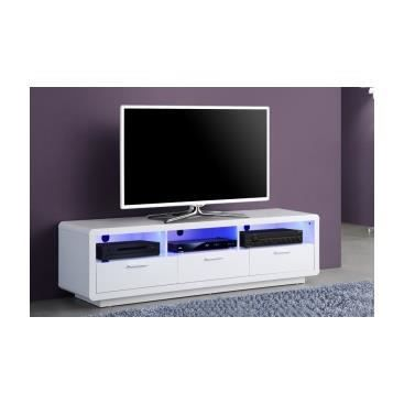 Meuble tv hifi design banc de salon cuisine int rieur pas cher tv calisto - Meuble hifi pas cher ...