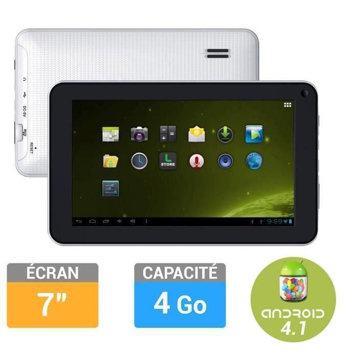 Logicom tablette 7 4go e731 prix pas cher cdiscount - Tablette logicom pas cher ...