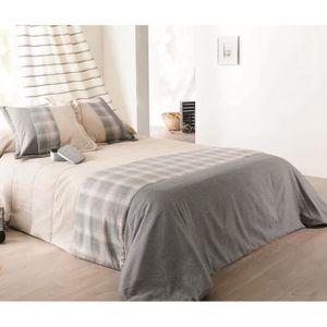 couvre lit linder 250 x 250 achat vente couvre lit linder 250 x 250 pas cher cdiscount. Black Bedroom Furniture Sets. Home Design Ideas