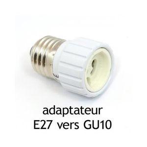 Adaptateur gu10 achat vente adaptateur gu10 pas cher - Douille ampoule led ...